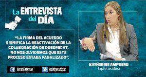 """Parece que procurador ha defendido intereses de Odebrecht"""