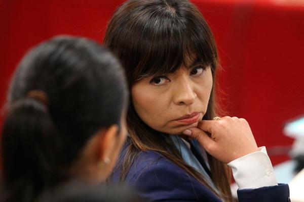 Giulliana Loza: «Keiko Fujimori está realizando visitas al norte del país con la debida autorización judicial»