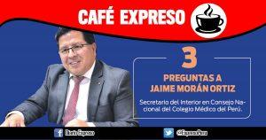 "Jaime Morán Ortiz: ""Minsa permite ejercicio ilegal de la medicina"""