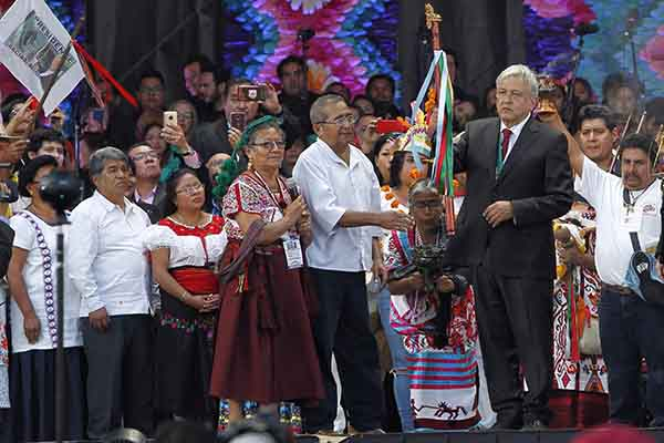 "México: López Obrador anuncia lucha contra la «inmunda corrupción"""