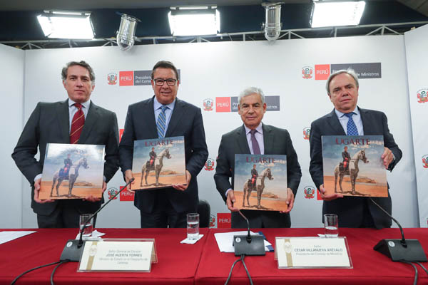 Presentan libro 'Ugarte' en homenaje al héroe de Arica