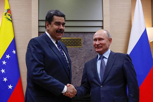 Nicolás Maduro anuncia que Rusia invertirá USD 6.000 millones en Venezuela