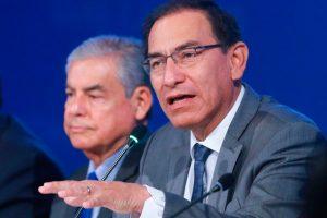 Martín Vizcarra: Ejecutivo respalda permanencia de Rafael Vela y Domingo Pérez