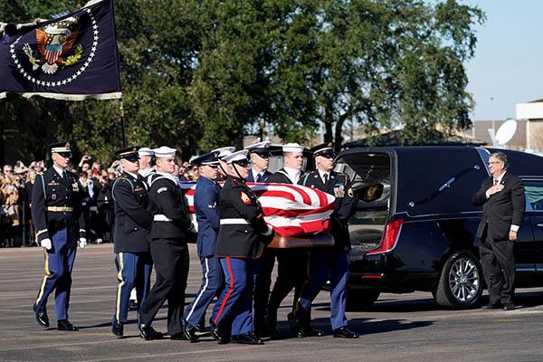 Estados Unidos: Restos de George H.W. Bush serán honrados en Washington