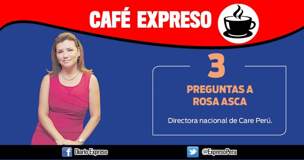 "Rosa Asca: ""Seis de cada 10 niñas no termina la secundaria"""