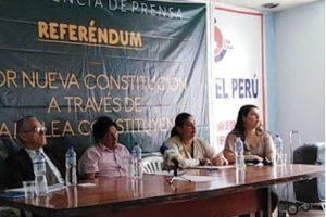 Sendero Luminoso busca firmas para nueva Constitución