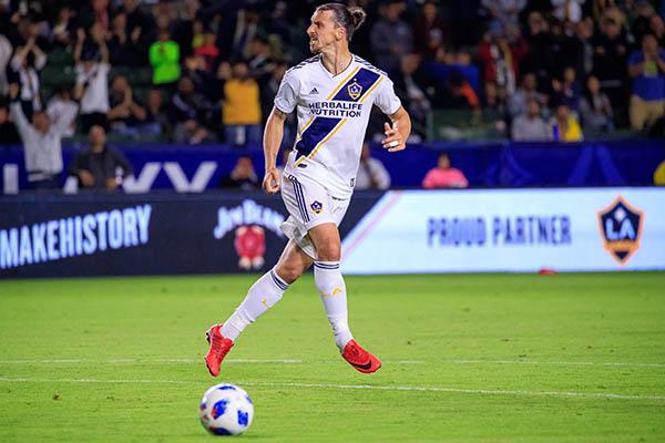 Zlatan Ibrahimovic se mantiene vigente en la MLS