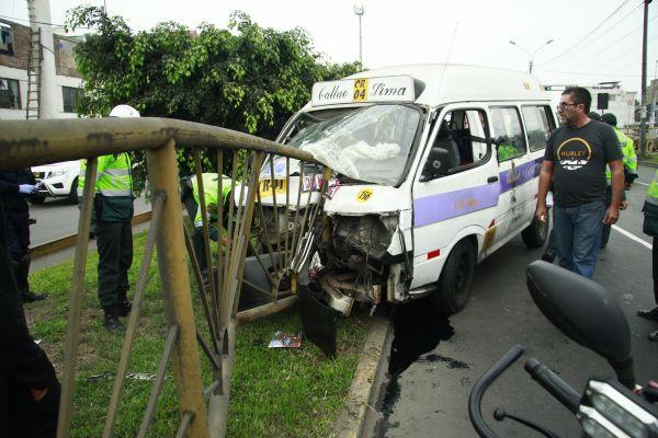 Estado de ebriedad ocasionó el 36% de los accidentes de tránsito en todo el Perú