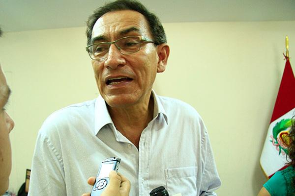 """Martín Vizcarra: """"La permanencia no garantiza un buen trabajo parlamentario"""""""