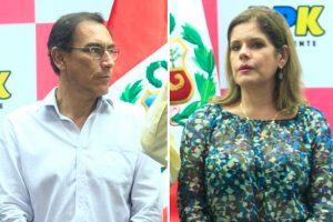 Mercedes Aráoz considera una pérdida de tiempo investigar a Martín Vizcarra