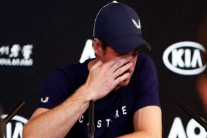Andy Murray anunció entre lágrimas el final de su carrera