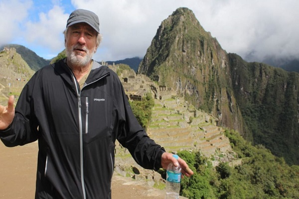 Robert de Niro maravillado en Machu Picchu [VÍDEO]