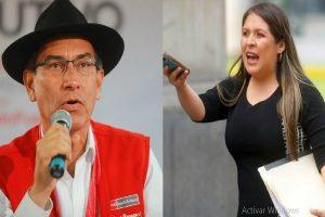 Yeni Vilcatoma denunciará constitucionalmente a Martín Vizcarra