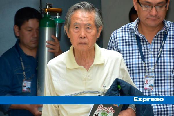 Alberto Fujimori regresa a penal de la Diroes