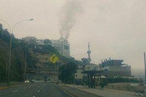 Barranco: Reportaron incendio en edificio del Malecón Paul Harris