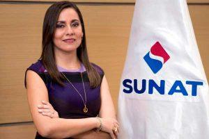 Claudia Suárez juramenta como nueva jefa de la Sunat