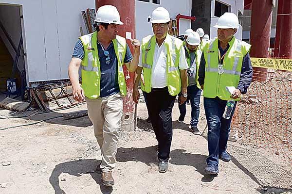Callao: Supervisan trabajos en la Villa Deportiva Regional