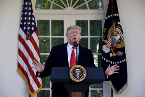Donald Trump anuncia un acuerdo para abrir gobierno federal