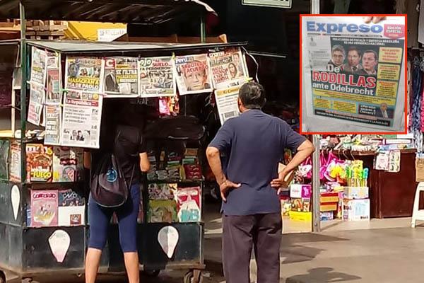 ¿Boicot contra el diario Expreso?