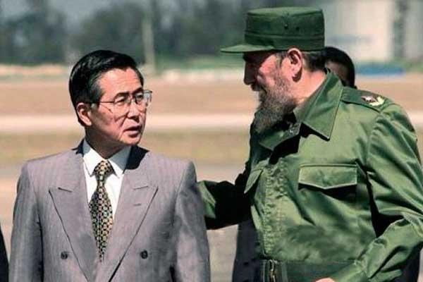 En 1997 Alberto Fujimori y Fidel Castro se reunieron en La Habana