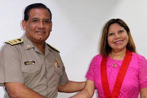 Corte y Policía chalaca coordinan acciones conjuntas