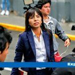 Loza sobre denuncia contra Keiko: «No hemos sido notificadas ni informadas»