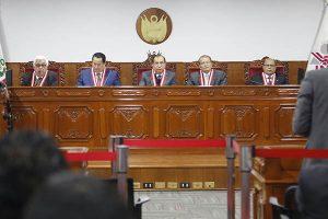 JNE suspendió a 41 alcaldes con prisión preventiva o sentencia