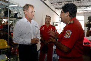 Jorge Muñoz: MML entregará unidad de rescate a compañía de bomberos