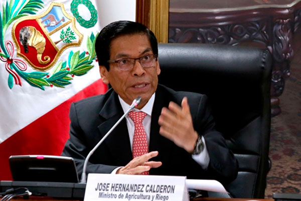 José Hernández: Exministro niega participación en Proyecto Alto Piura