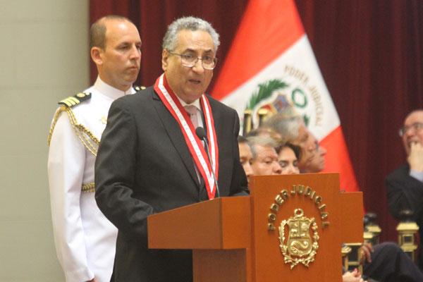 José Luis Lecaros: Suspensión al juez Vicente Walde no es viable
