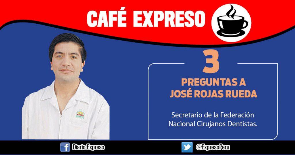 """José Rojas Rueda: """"Cirujanos dentistas deben pertenecer al equipo básico de salud»"""