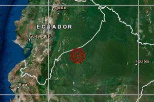 Sismo en Loreto de 5.8 grados sacude el Alto Amazonas