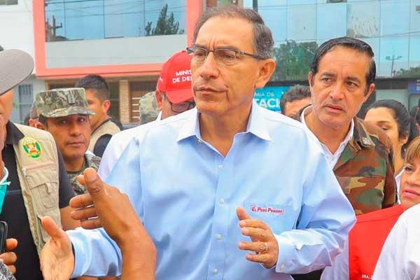 """Martín Vizcarra: """"Conflicto en Las Bambas se solucionará esta semana"""""""
