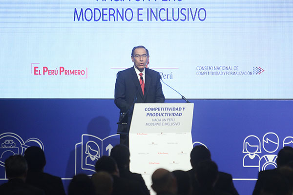 Martín Vizcarra: Inversión local será de S/ 8,200 millones este año