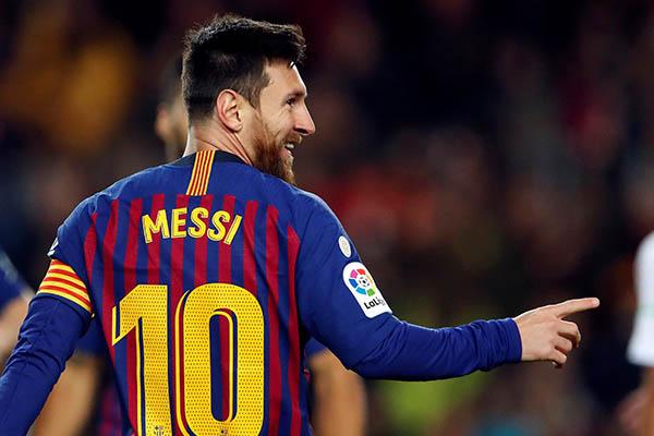 Messi alcanzó los 400 goles