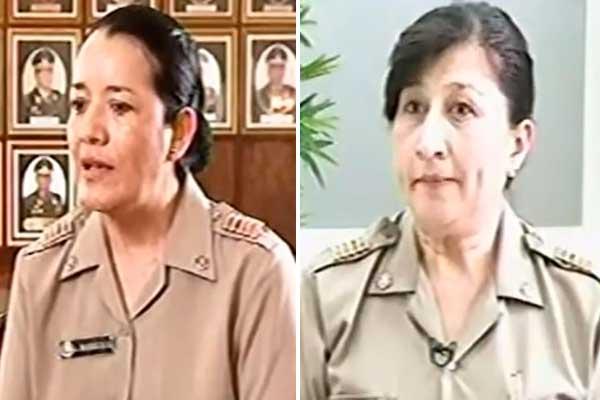 Lourdes Barriga y María Dibós: Primeras mujeres en alcanzar el grado de coronel del Ejército