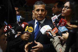 Ollanta Humala a favor de la firma del acuerdo con Odebrecht
