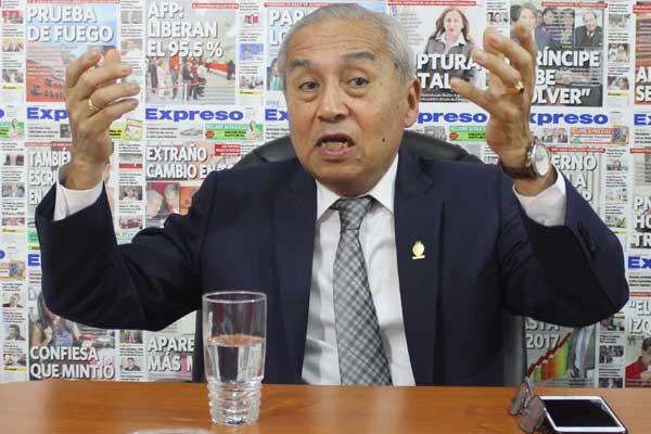 Pedro Chávarry: Hay nuevas pruebas del caso Chinchero