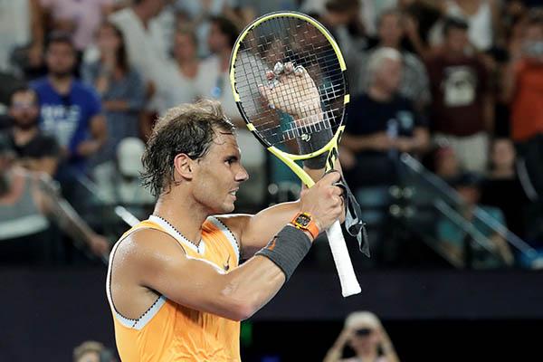 Abierto de Australia: Rafael Nadal arrasa a Tsitsipas