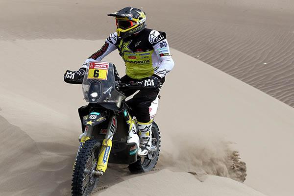 Quintanilla recupera el liderato del Rally Dakar 2019