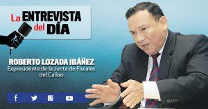 """Roberto Lozada Ibáñez: """"Es un desaire no participar en la reforma de justicia"""""""