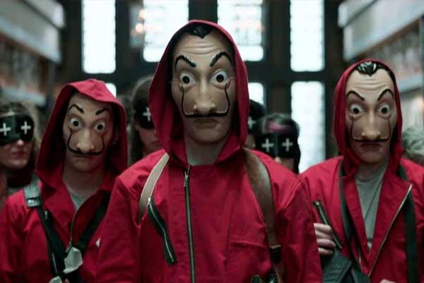 Fundación Gala-Dalí le quita la máscara a 'La casa de papel'