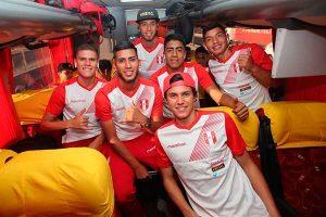 Sub 20 de Perú ya está en Chile para jugar el Campeonato Sudamericano