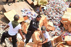 Sucamec destruye 19.4 toneladas de pirotécnicos