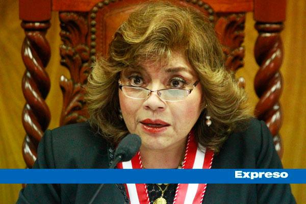Zoraida Ávalos dice que no renunciará a su cargo: «No tengo por qué dar un paso al costado»