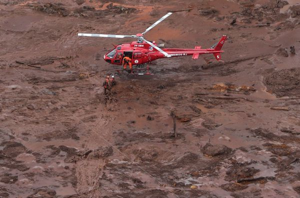 Tragedia en Brasil: 34 muertos y más de 250 desaparecidos por vertido minero