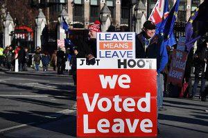 """Londres pide """"cambios"""" al acuerdo del """"brexit"""""""