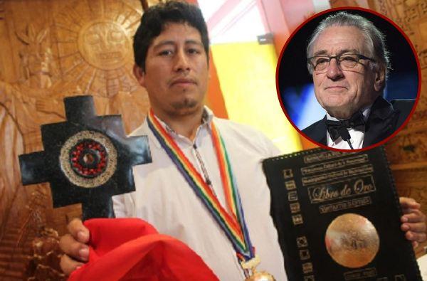 Robert de Niro recibirá la 'chacana' por parte del alcalde de Machu Picchu