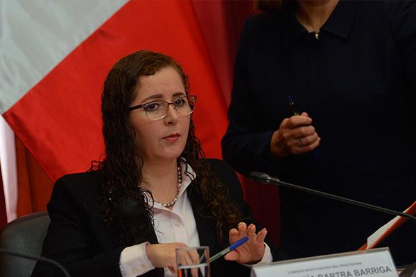 Rosa Bartra asegura que no hubo retrasos en la ley del JNJ