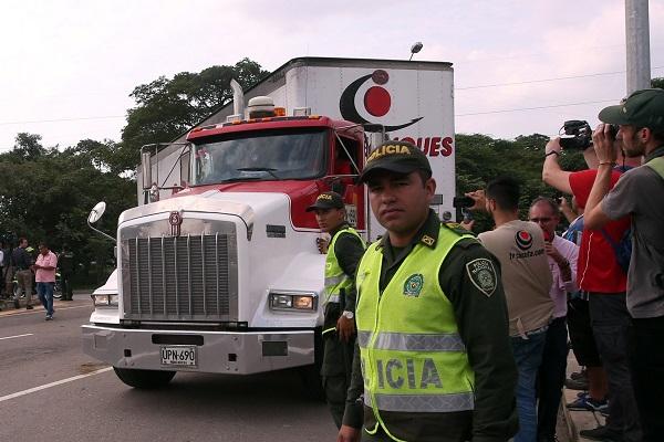 Venezuela: Ayuda humanitaria llega a Cúcuta